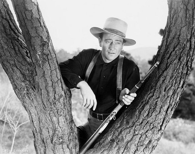 John Wayne 1941-ben, a The Shepherd of the Hills című filmben