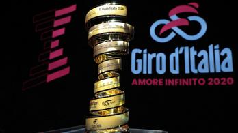 Budapest helyett Palermóból indulhat az idei Giro d'Italia