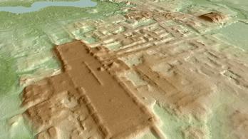 Hatalmas ősi maja építményt fedeztek fel lidarral