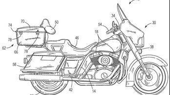 Önegyensúlyozó rendszert szabadalmaztatott a Harley-Davidson