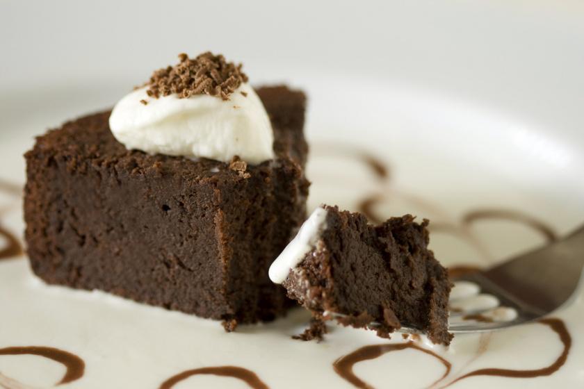 lisztmentes csokitorta recept