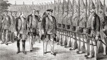 A porosz ezred, ahová csak óriásokat soroztak be (olykor emberrablással)