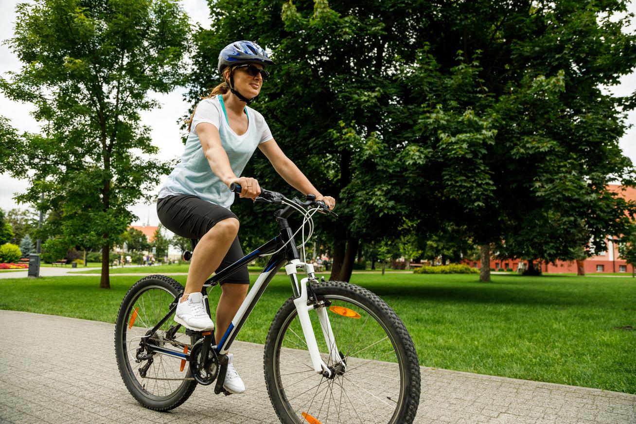 kerékpár bicikli nő sport