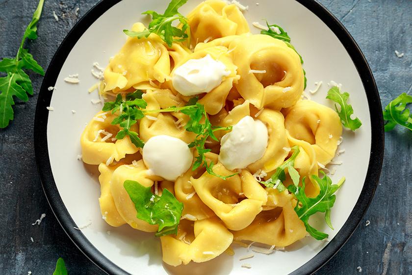 Házi tortellini alaprecept – Bármilyen mártással finom lesz
