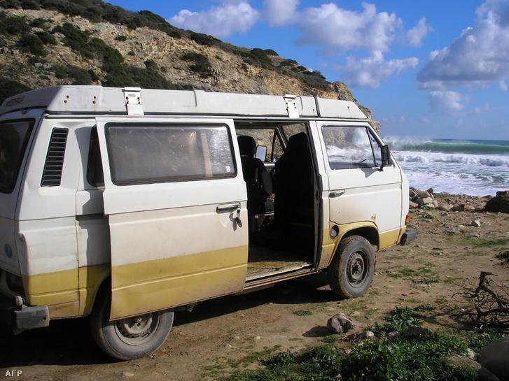 Az új gyanúsított által használt Volkswagen mikrobusz 2007-ben