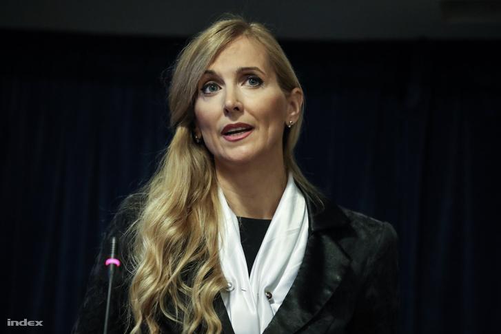 Szabó Tünde, sportért felelős államtitkár