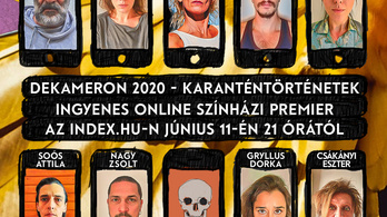 Kulka Jánossal és Csákányi Eszterrel hoz szokatlan járványszínházat az Index