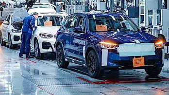 Készen áll a gyártásra a BMW iX3