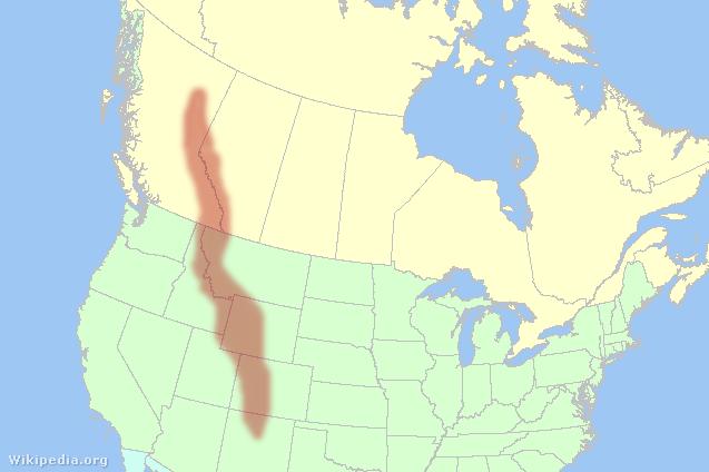 A Sziklás-hegység (angolul Rocky Mountains vagy The Rockies) hegylánc Észak-Amerikában.