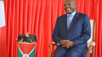 Szívrohamban meghalt Burundi elnöke