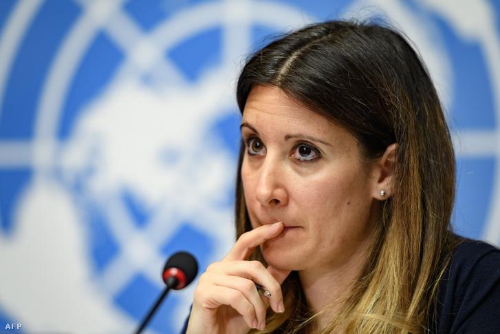 A WHO felbukkanó betegségekkel foglalkozó részlegének vezetője, Maria Van Kerkhove egy januári sajtótájékoztatón.