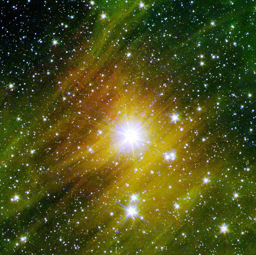 Így néz ki egy pusztuló csillag.