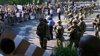 Megfertőződtek a tüntetéseken a Nemzeti Gárda tartalékosai