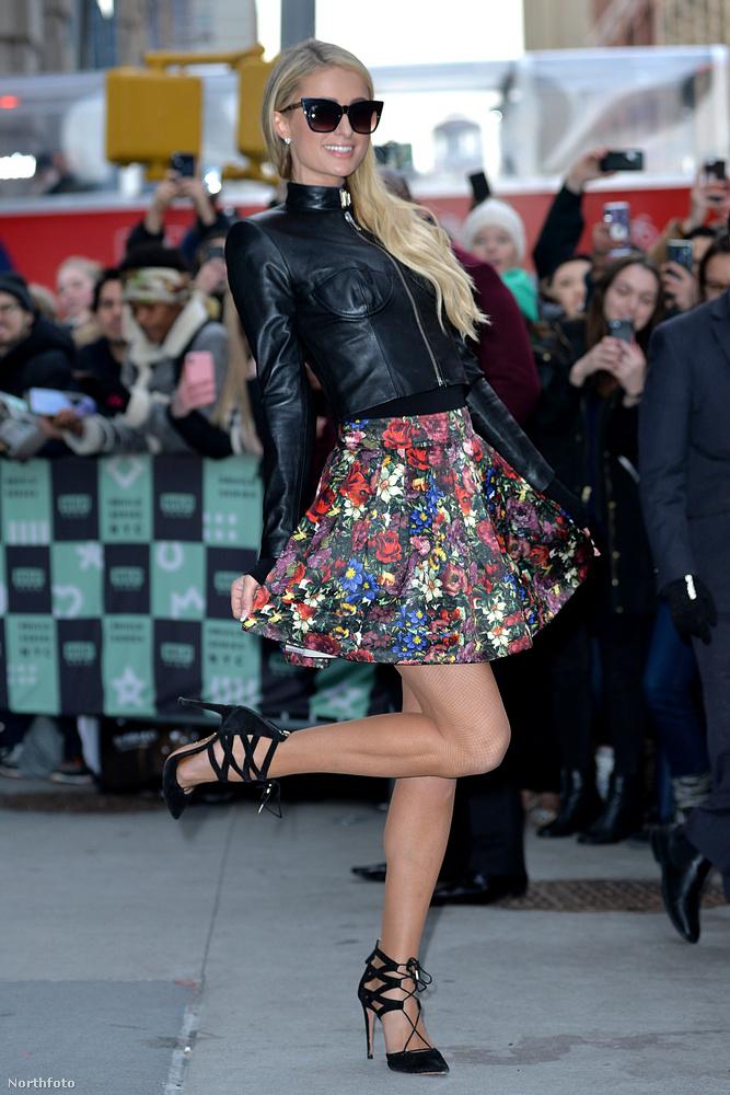Paris Hilton leginkább azért nem szereti a lábát, mert elég nagy: 43-as cipőt hord