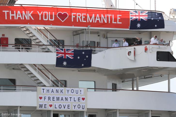 Köszönet és búcsú Fremantle lakosságától