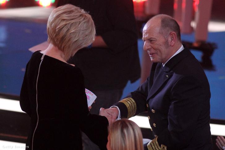 A norvég kapitány, Morten Hansen egy 2017-es gálán