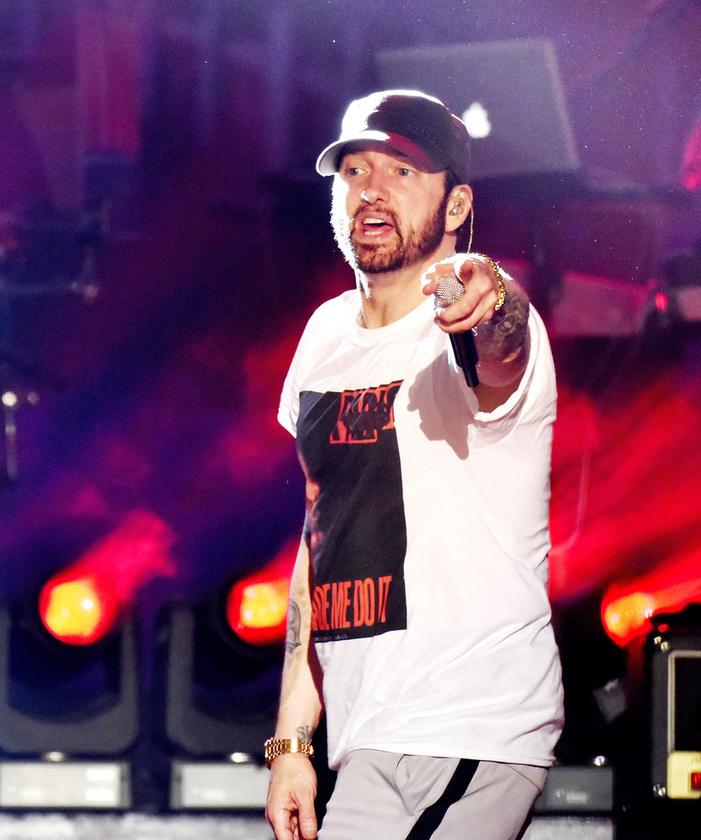 Eminemnek azóta 4 albuma jelent meg, a legutóbbi idén januárban