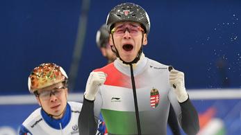 Biciklis edzés közben szorította le a busz a magyar válogatott korcsolyázókat