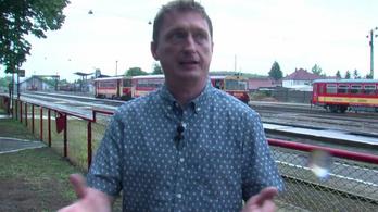 Balassagyarmat polgármestere élő videóban mutatta be a vonatritkítás örkényi abszurditását
