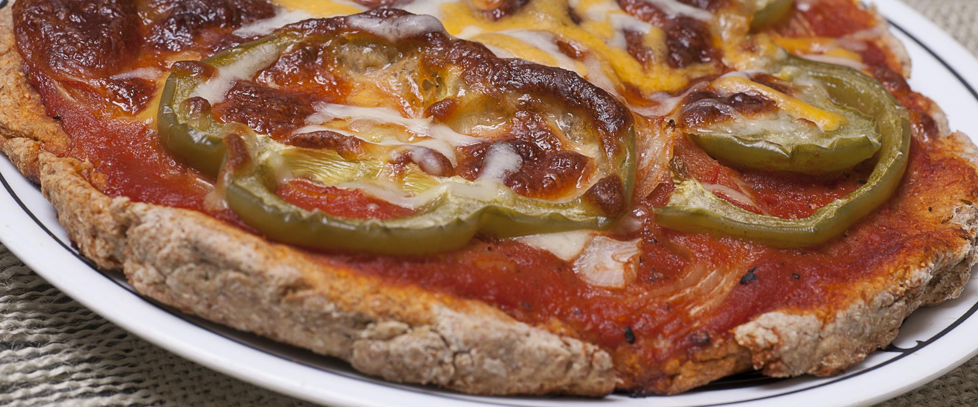 teljes kiőrlésű pizza cover