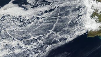 Az óceánjárók füstje csökkenti a légköri melegedést