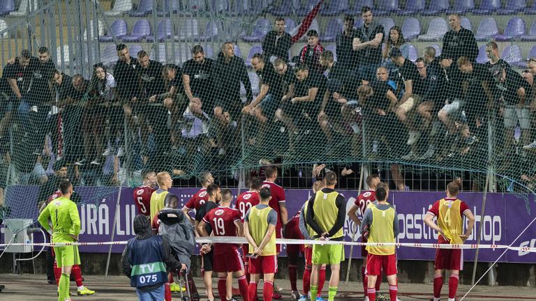 Az Újpest–Debrecen-meccs miatt is vizsgálatot indít a rendőrség