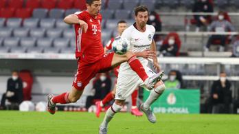 Lewandowski nem tud leállni, már 45 gólos a szezonban