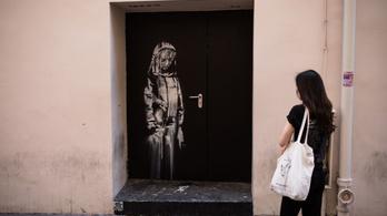Olaszországban bukkant fel Banksy másfél éve ellopott graffitije