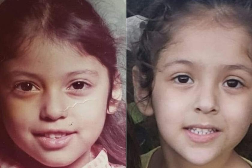 Fotókon mutatták meg a netezők, mire képesek a gének: mintha ikreket látnánk a képeken