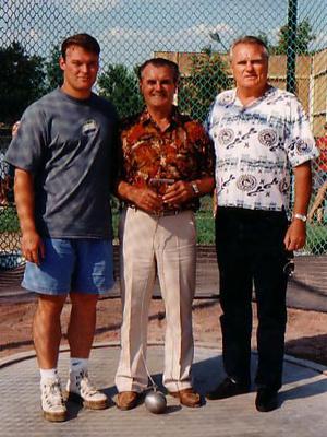 Kiss Balázs, Csermák József, Zsivótzky Gyula olimpiai bajnokok 1987-ben.