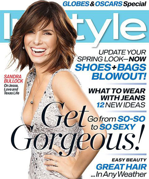 2007 márciusában állt modellt az Instyle magazinnak ebben a csillogó, dekoltált kreációban.