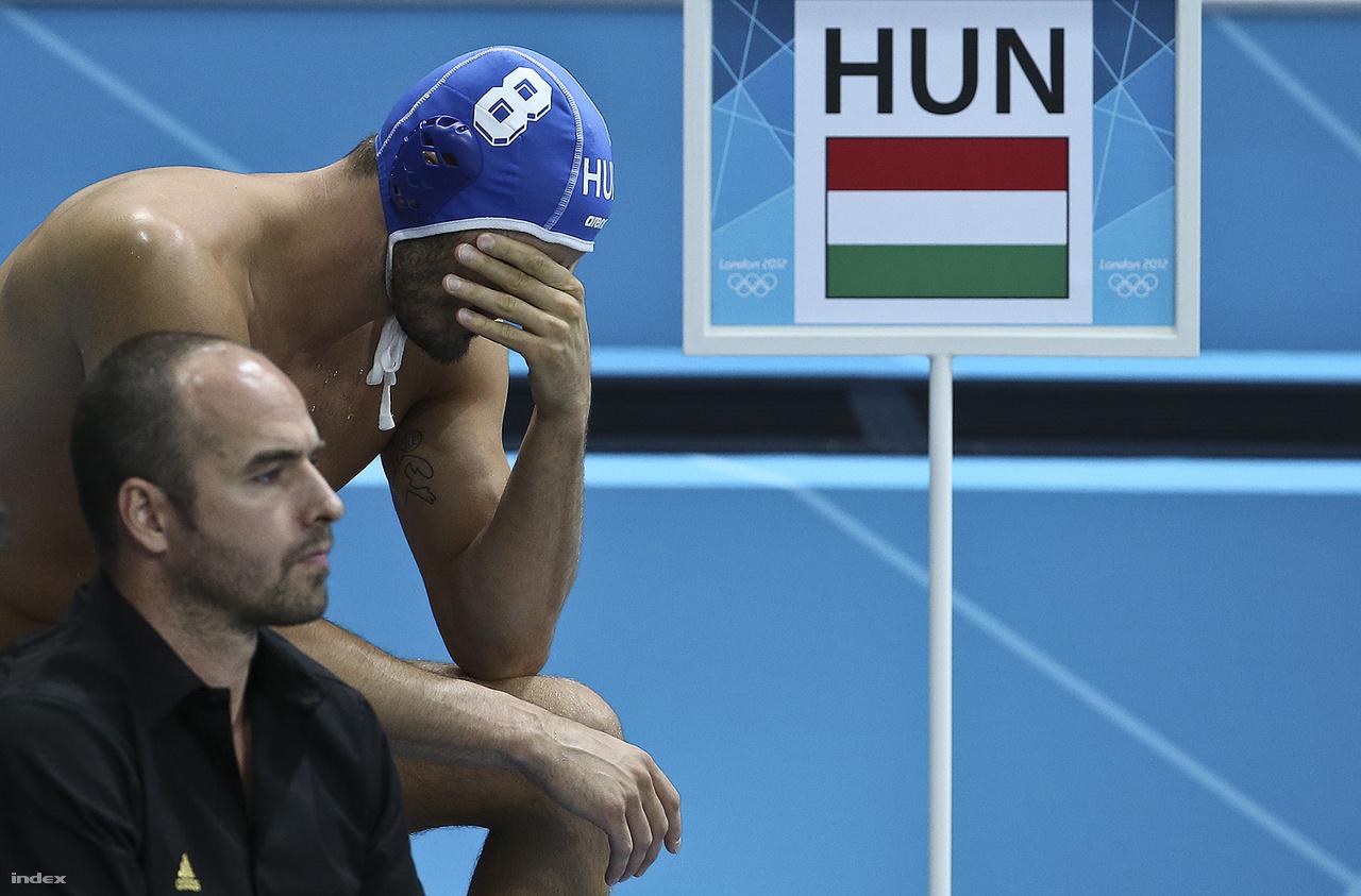 A 2012-es londoni olimpián is Benedek Tibor segítette Kemény Dénes munkáját, sorrendben a negyedik arany megszerzése nem sikerült. Benedek nyolcas sapkáját Szivós Márton viselte.