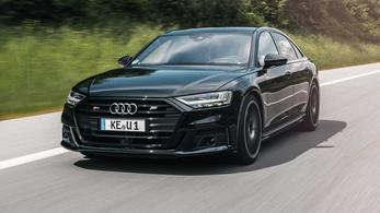 Hétszáz lóerős Audi S8-ast készített az Abt