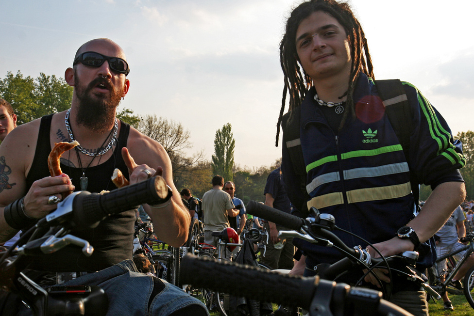 A biciklis közösség a CM-ek nyolc éve alatt túlnőtt a szubkultúrán.