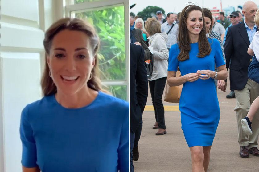 Ezt a Stella McCartney-ruhát többször is láthattuk már a hercegnén.