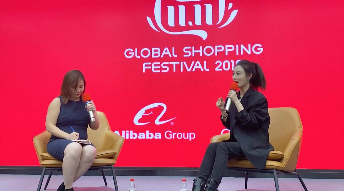 Viya interjút ad a Global Shopping Festival-on 2019-ben.