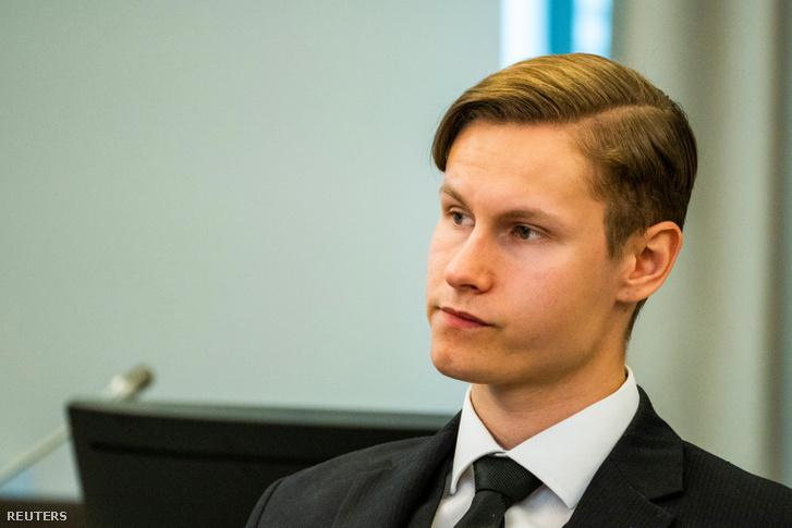Philip Manshaus a mai tárgyaláson