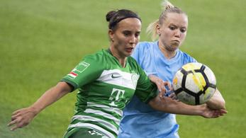 A harmadik meccsen dől csak el, hogy a Fradi vagy az MTK női focicsapata mehet-e a BL-be