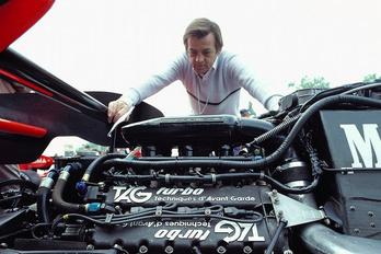 Elhunyt Hans Mezger, a Porsche legendás motortervezője