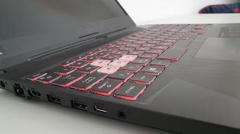 Erőt demonstrál az Asus TUF A15 laptop