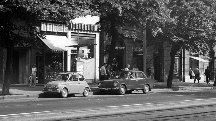 Egy jellegzetes hetvenes évek eleji kép