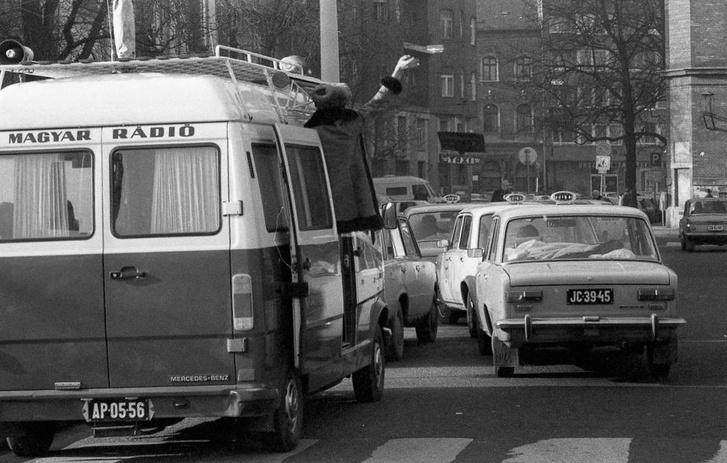 A nyolcvanas években egyszer csak sok taxi lett az úton