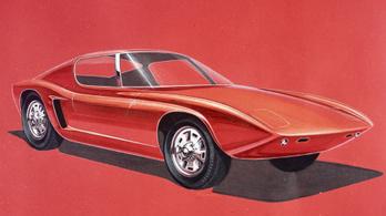 Eredetileg ilyennek szánták a Ford GT40-est