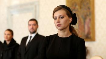 Koronavírusos az ukrán államfő felesége, Kijevben újra gyorsul a vírus terjedése
