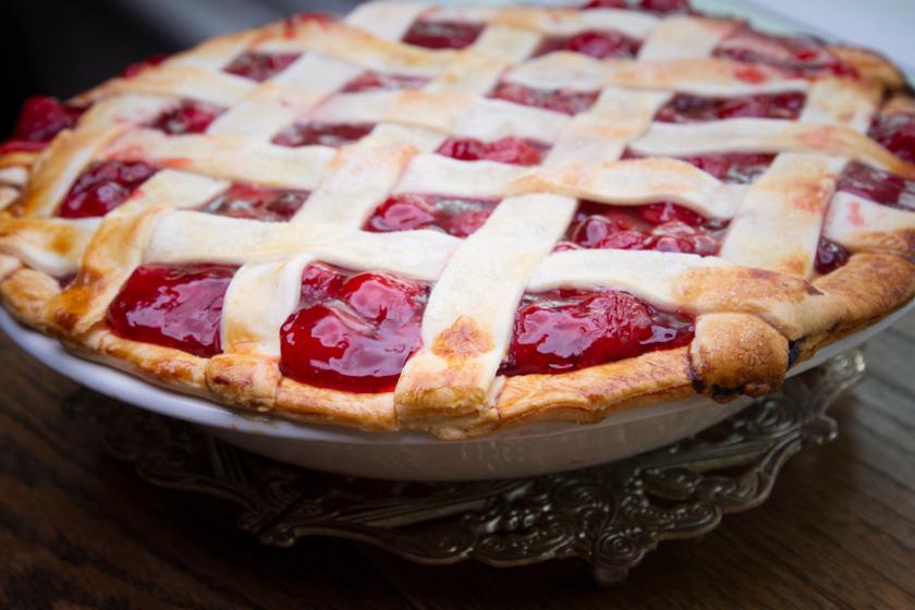 cseresznyés pite recept