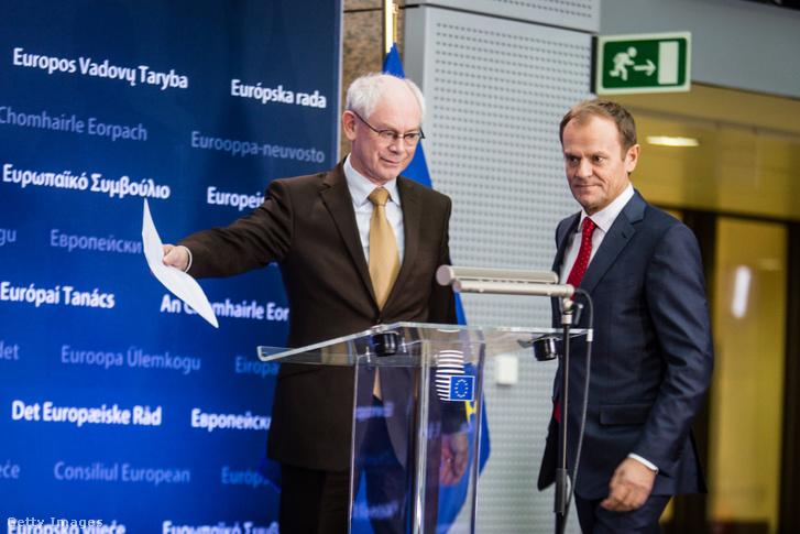 Herman van Rompuy és Donald Tusk
