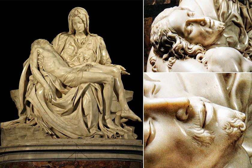 A Pietá.