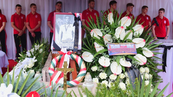 Eltemették Tóth Bendegúz birkózót