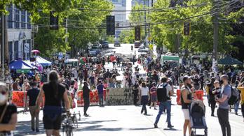 Seattle-ben autonóm zónát hirdettek az anarchisták