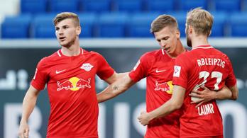 Gulácsiék 2-0-ra nyertek, 6 pont előnnyel dobogósok a Bundesligában